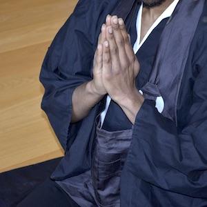Gassho gesture - zenways sangha
