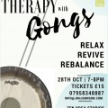 Sound Therapy with Gongs